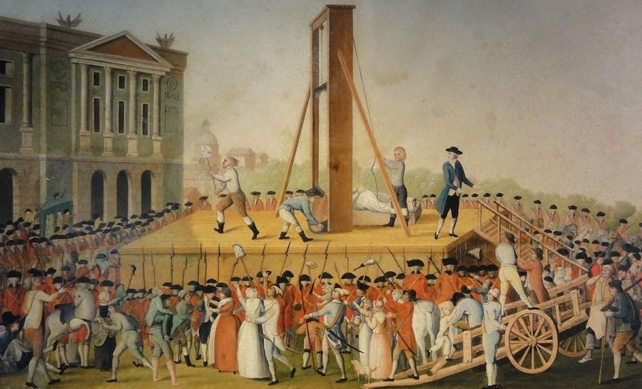 """Резултат с изображение за """"гилотината за екзекутиране."""""""